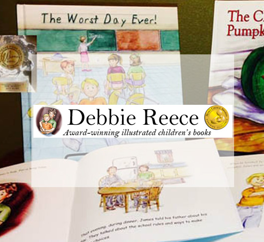 Debbie Reece Award-Winning Illustrated Children's Books