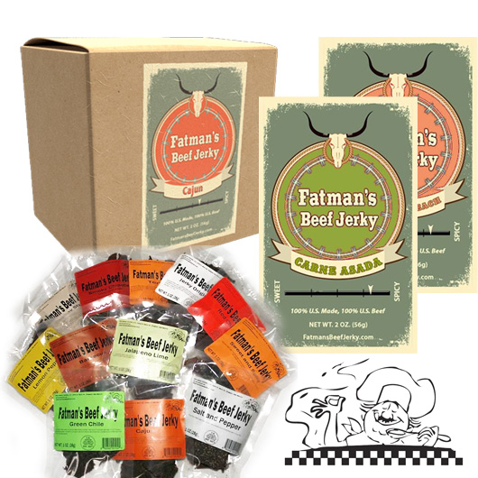 Fatman's Beef Jerky Products