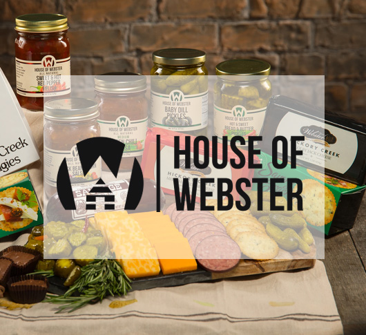 House of Webster Product Examples