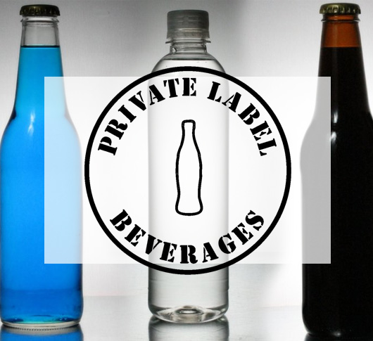 Private Label Beverages Product Examples