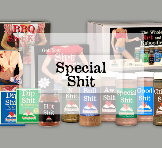 Specialty Shit Rubs & Sauces